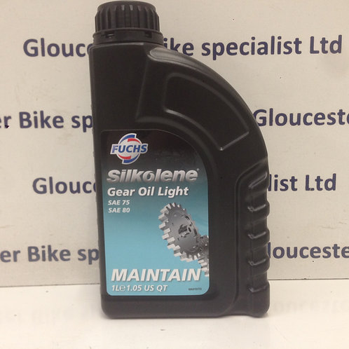 SILKOLENE GEAR OIL LIGHT SAE 75/80 1 LITRE