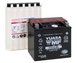 YUASA YTX14L-BS MOTORCYCLE SCOOTER MOPED BATTERY MAINTENANCE FREE