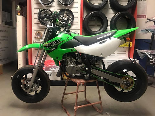KAWASAKI KX65 SUPERMOTO WHEEL CONVERSION KIT