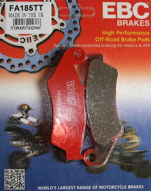 HONDA CRF450 CRF250 EBC FA185TT FRONT BRAKE PADS