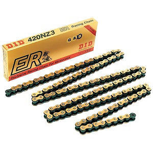 DID 420NZ3 GOLD MOTORCROSS CHAIN 136 LINKS