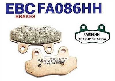 EBC FA086HH PITBIKE FRONT TWIN POT BRAKE PADS