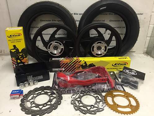 HONDA CRF150R MOBSTER SUPERMOTO CONVERSION KIT with K-TECH SUSPENSION UPGRADE