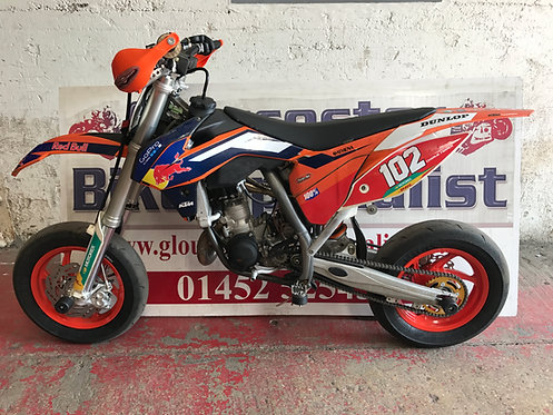 KTM SX85 MINIMOTARD SUPERMOTO CONVERSION
