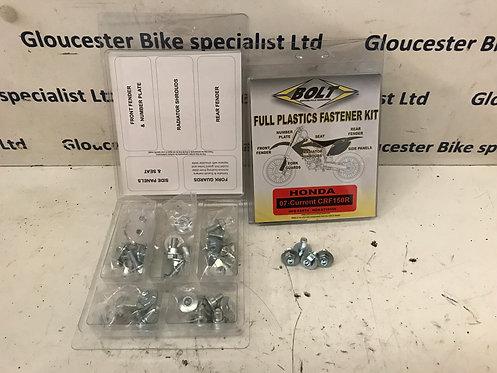 Honda CRF150R Full Plastic Fastener Kit