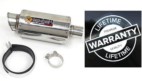 LEXTEK STUBBY 51mm UNIVERSAL EXHAUST CAN