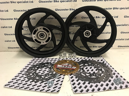 Honda CRF150 Minimotard MiniSupermoto Wheel Kit