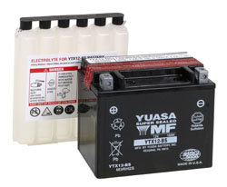 YUASA YTX12-BS MOTORCYCLE SCOOTER MOPED BATTERY MAINTENANCE FREE