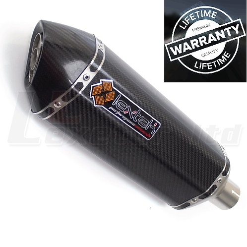 Lextek SP8C Carbon Fibre Hexagonal Exhaust Silencer 51mm