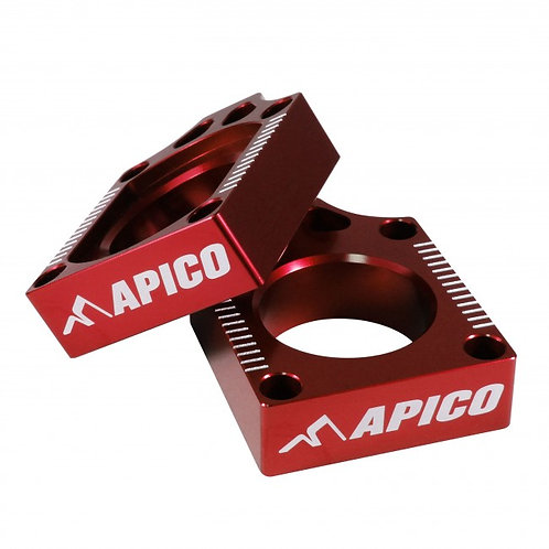 APICO REAR WHEEL SPINDLE AXLE BLOCKS CHAIN ADJUSTE