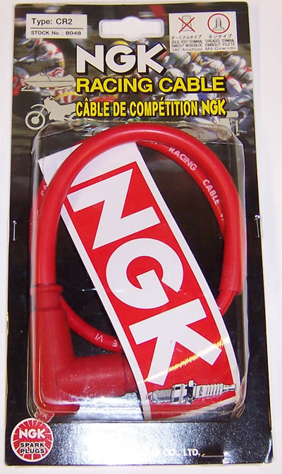 NGK CR2 racing HT lead with Cap