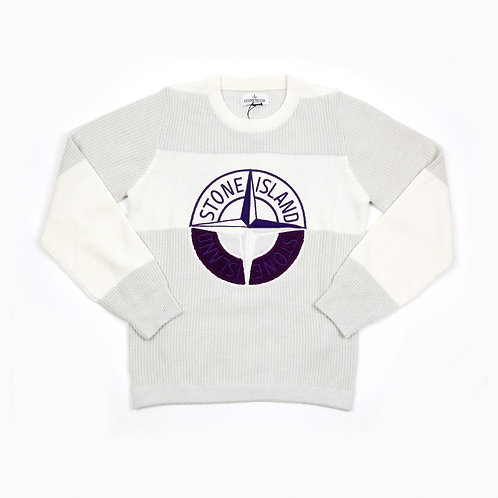 Stone Island Junior - Ribbed Colour-Block Knit