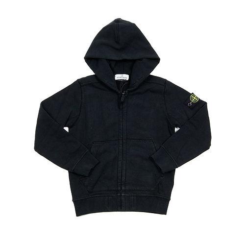 Stone Island Junior - Black hoodie
