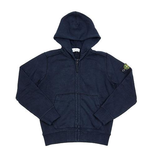 Stone Island Junior - Navy Hoodie