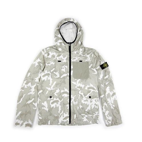 Stone Island Junior - Camouflage Print Jacket