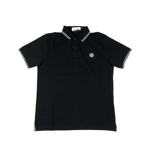Stone Island - Black Polo Shirt