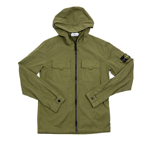 Stone Island Junior - Hooded Overshirt