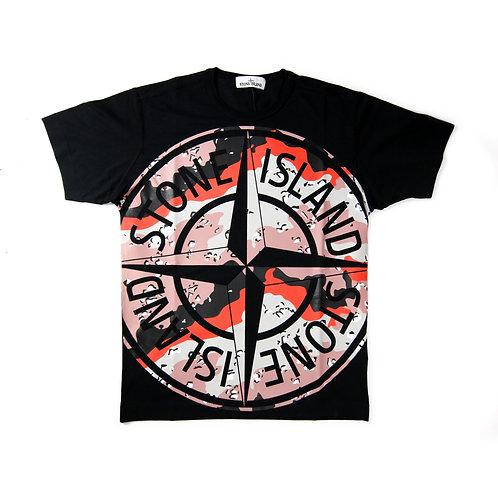 Stone Island - Camo Compass T-shirt