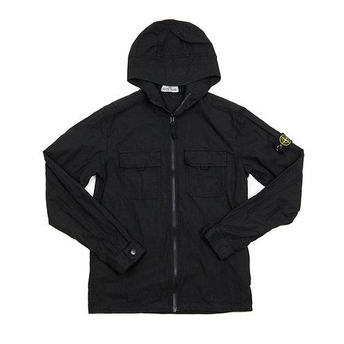 Stone Island Junior - Hooded Overshirt