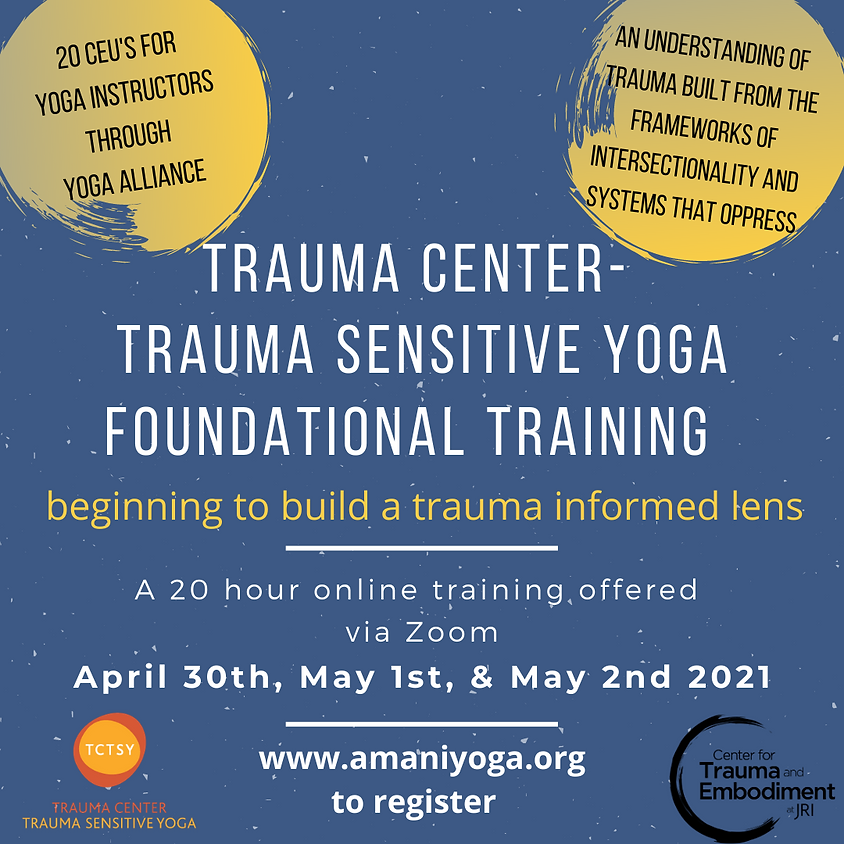 20 Hour Online TCTSY Foundational Training - Beginning to Build a Trauma Informed Lens