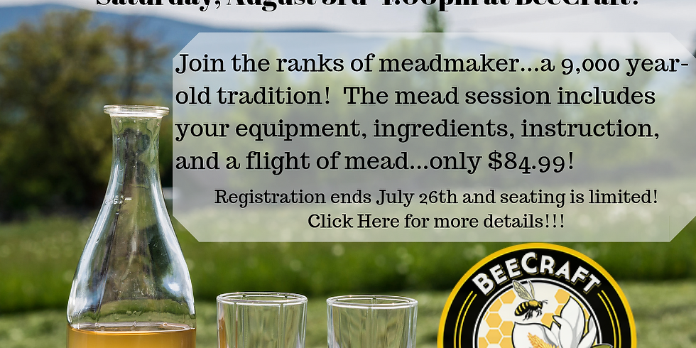 SOLD OUT! Make a Gallon of Mead on Mead Day 2019