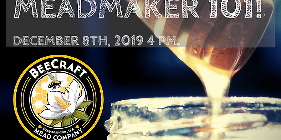 Mead Maker: Make Your Own Semi-Sweet Wildflower Mead! REGISTRATION CLOSED