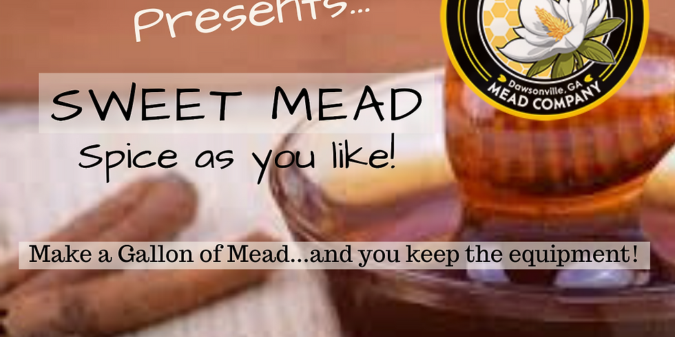 MeadMaker 101: Sweet Mead (sold out)