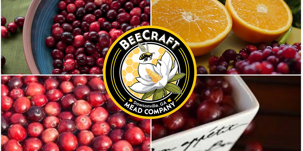 Mead Maker 101:  Light and Spritzy Cranberry Orange Mead (a hydromel!)