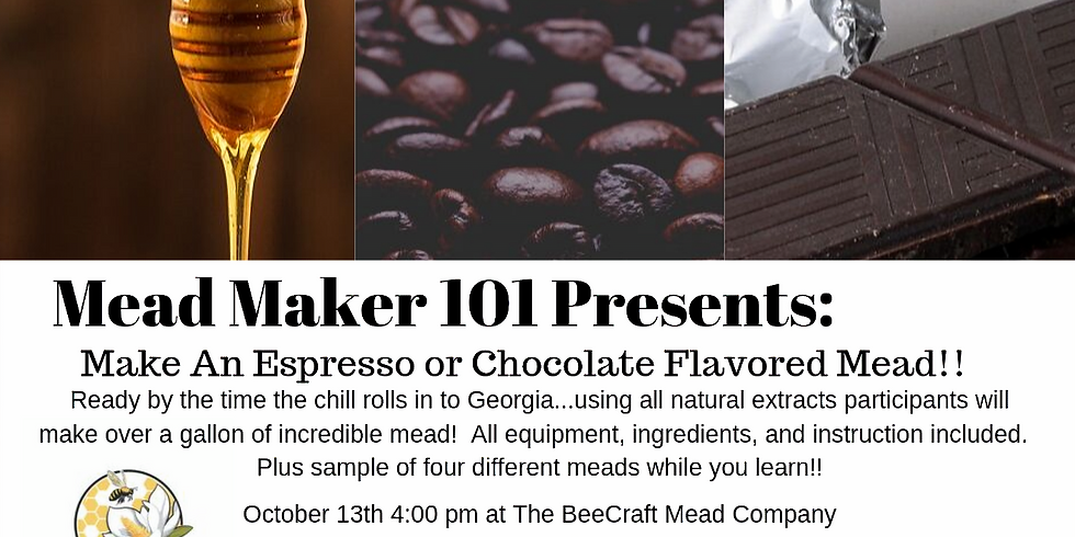 Mead Maker 101:  Espresso or Chocolate Flavored Mead