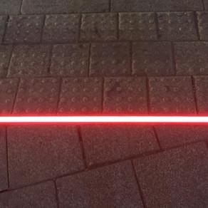 LED Lights Installed at a Tel Aviv Crosswalk