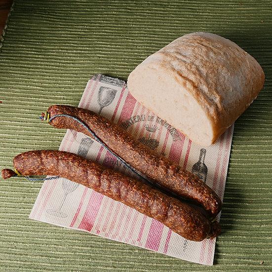 Rindfleisch-Knacker