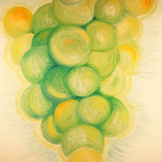 Green Grapes By Gina Rizzo