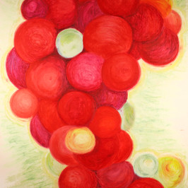 Red Grapes By Gina Rizzo