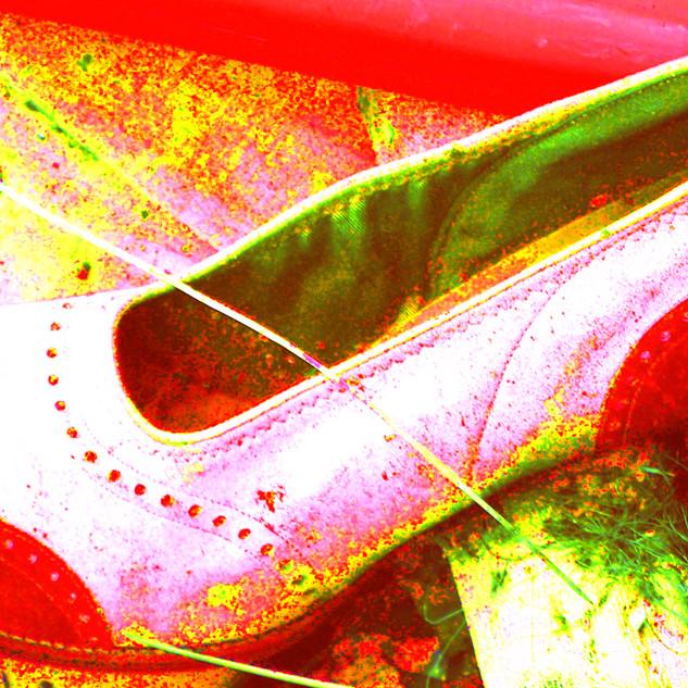 Vintage Red Shoe