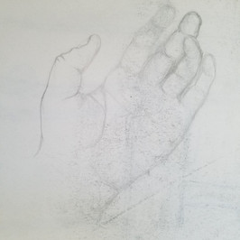 Hand Study By Gina Rizzo