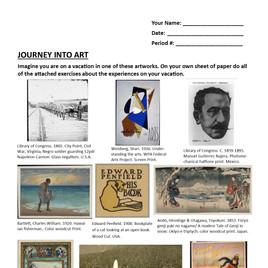 Trip Into Art Copyright Free