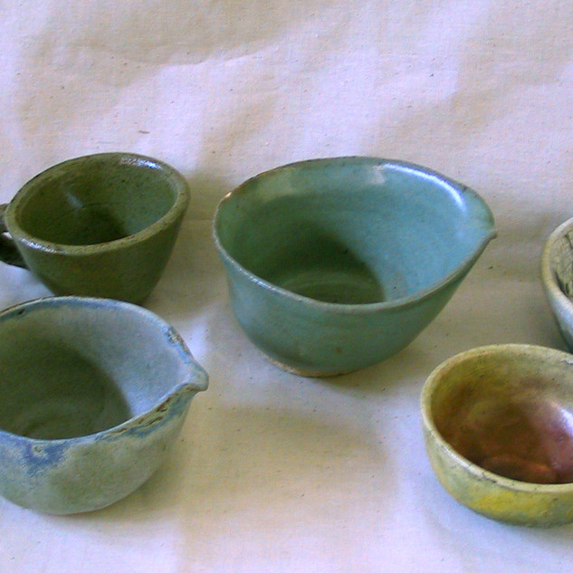 Ceramic Bowls By Gina Rizzo