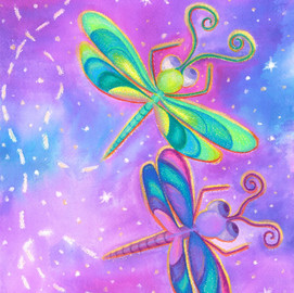 Dragonflys as Fairys Flying