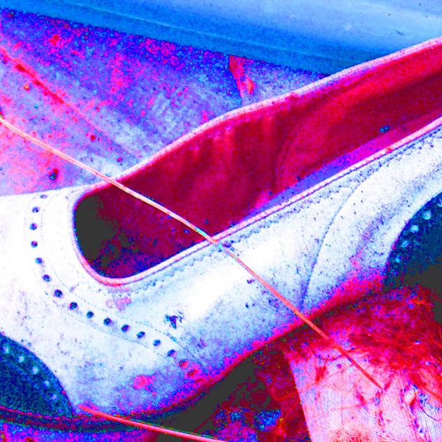 Vintage Blue Shoe