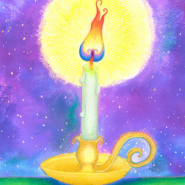 Candle Light Night Light