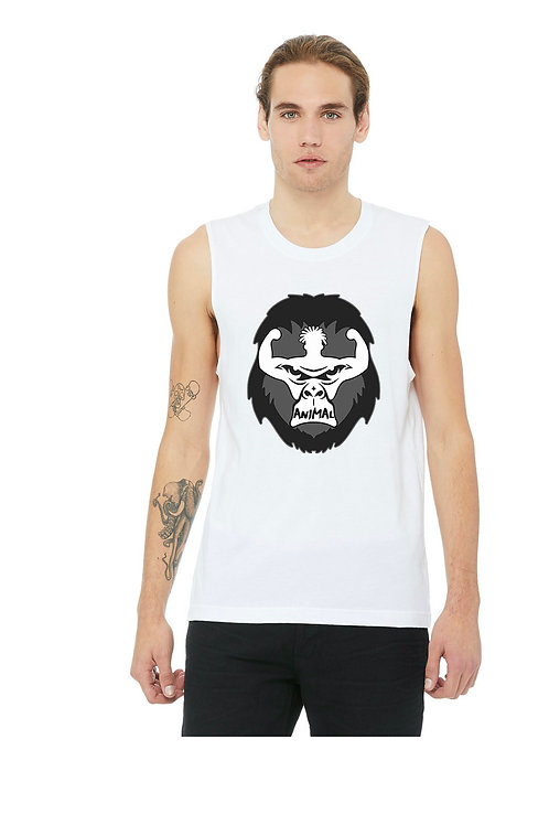 Men's Muscle Tank with Front logo