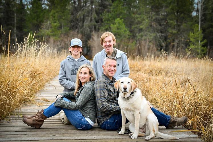 Family Portraits in Dover Bay
