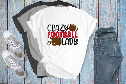 Crazy Football Lady