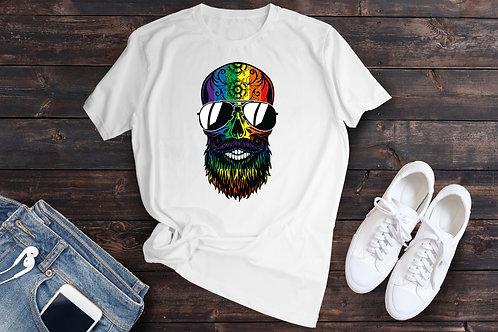 Hippy Skull with shades