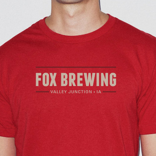 Unisex Crewneck T-Shirt / Red