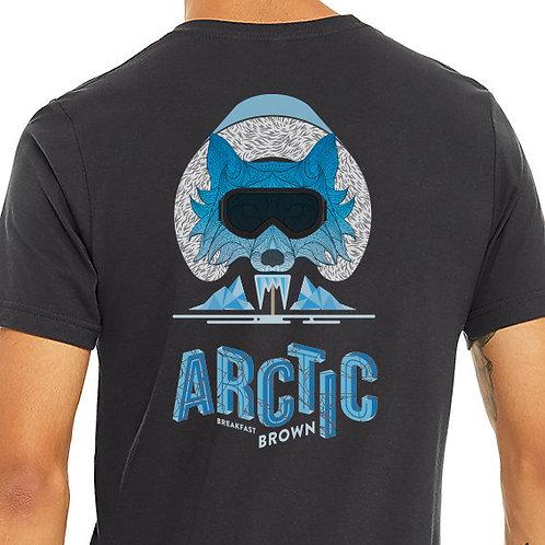Arctic Breakfast Brown T-Shirt