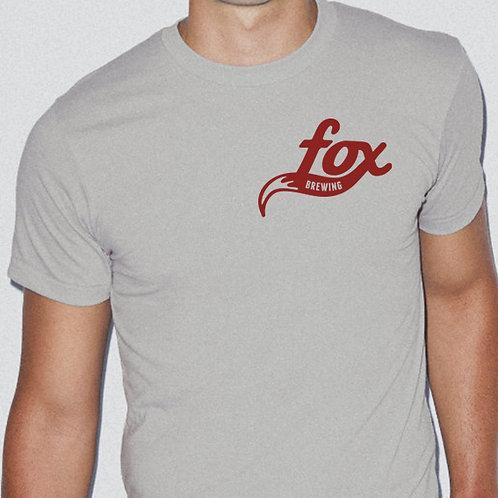 Unisex Crewneck T-Shirt / Lt Grey