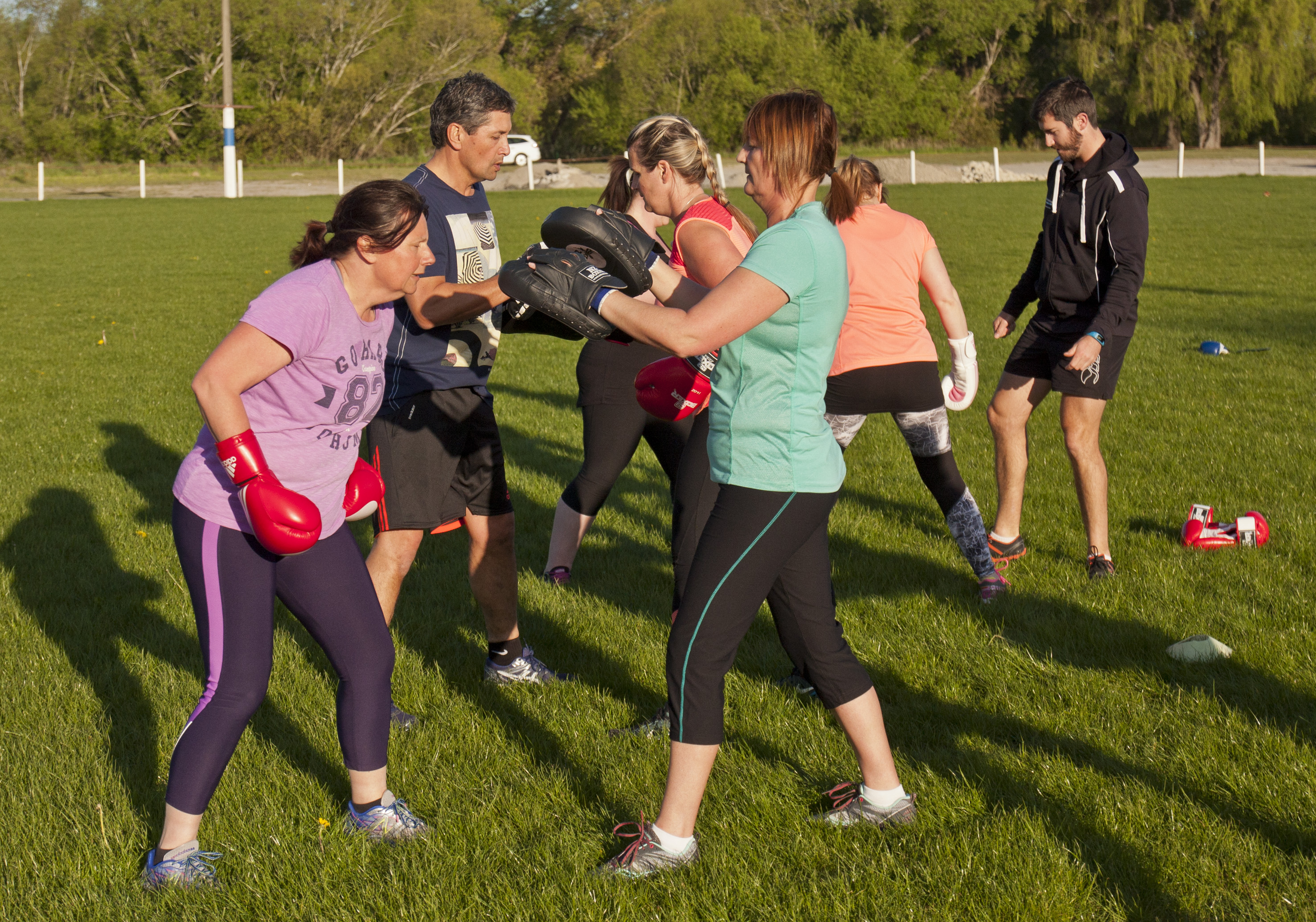 KFC Boxfit in the Park 2015 02