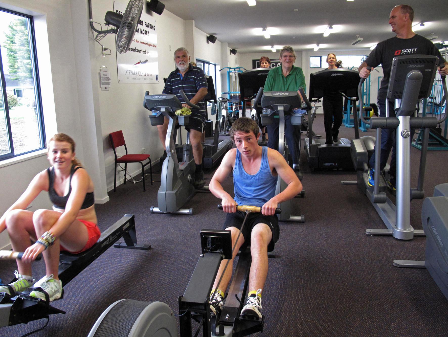Oxford Fitness Centre Cardio 08