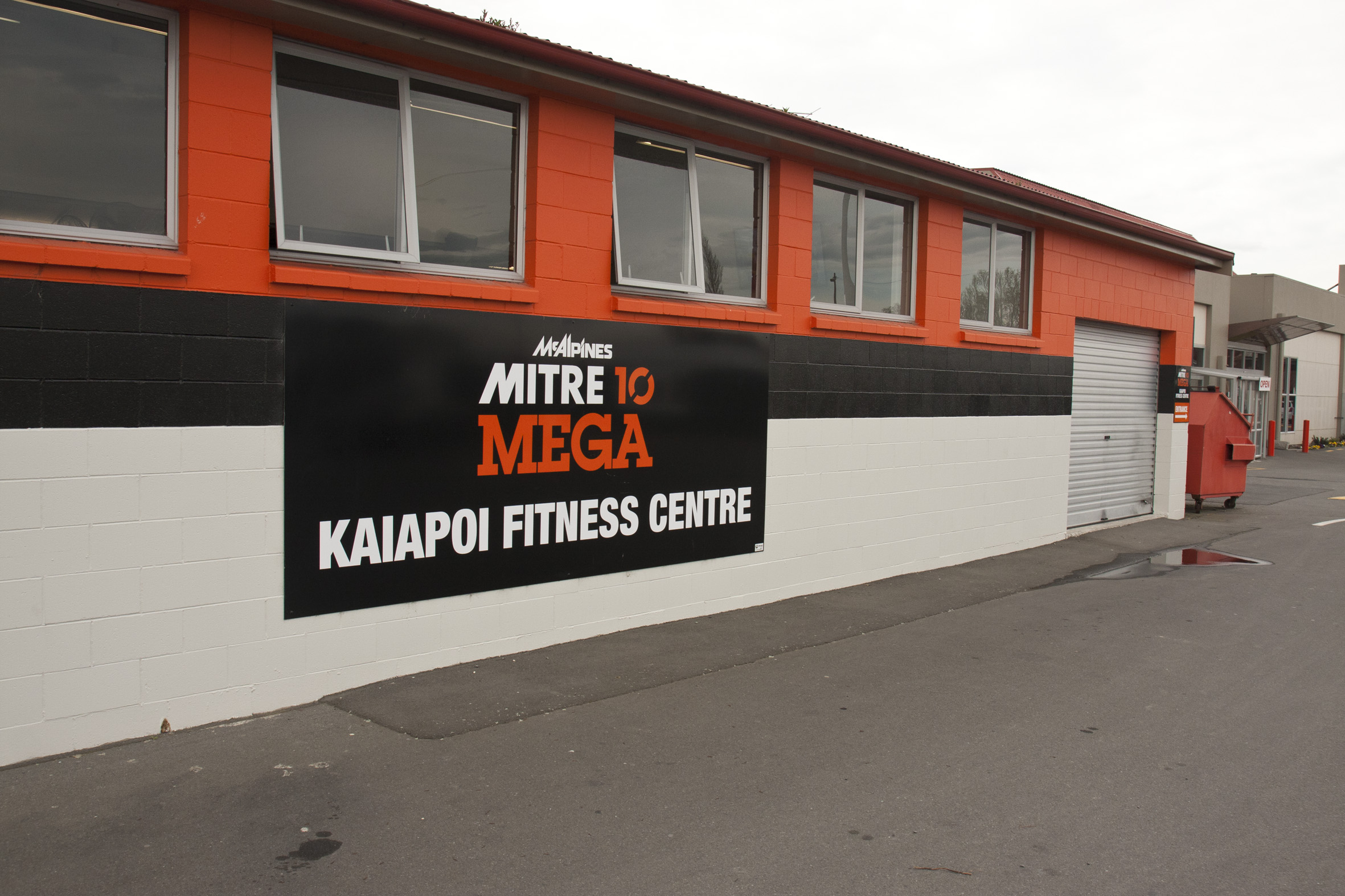 Kaiapoi Fitness Centre Outside Signage 04